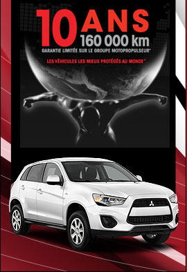 garanties disponible chez Brossard Mitsubishi